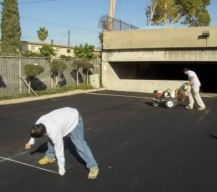 Parking Lot Striping / Line Painting