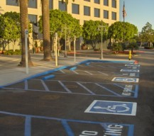 Handicap Striping & Disabled Parking Lot Markings